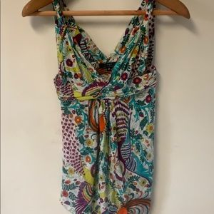 T-bags halter top size M